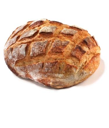 לחם כפרי צרפתי לבן