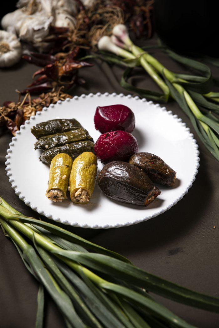 מיני ירקות ממולאים