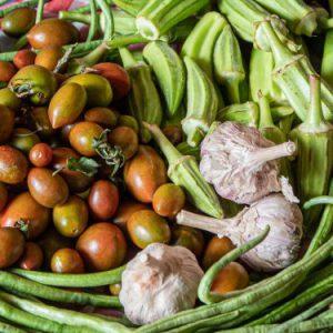 סל ירקות מהחווה